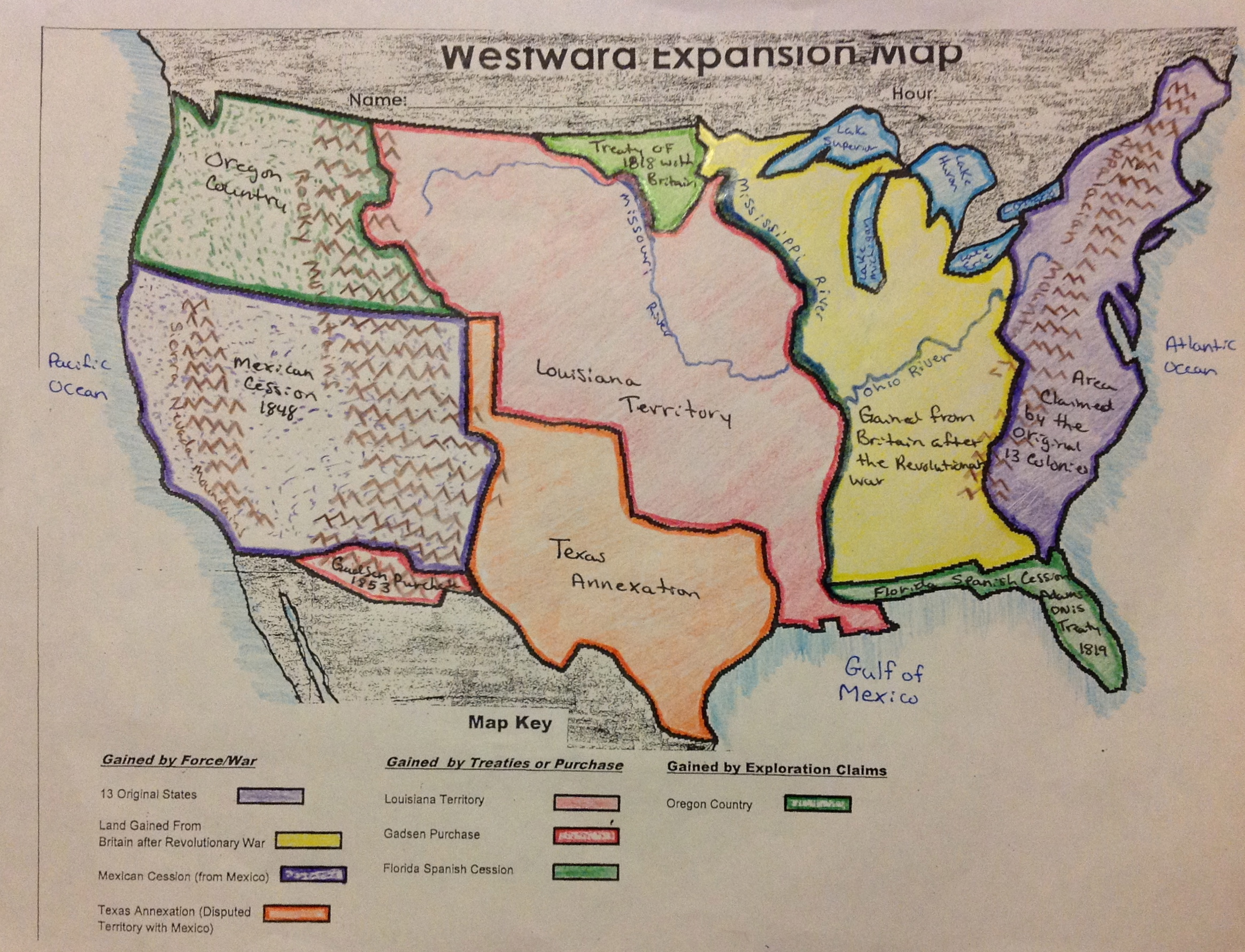 50 States And Capitals Map Quiz further Western Region States Blank ...